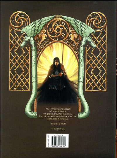 Dos Merlin la quête de l'épée - intégrale tome 2