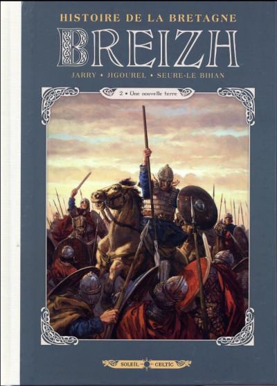 Couverture Breizh - histoire de la Bretagne tome 2