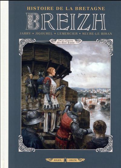 Couverture Breizh - Histoire de la bretagne tome 5