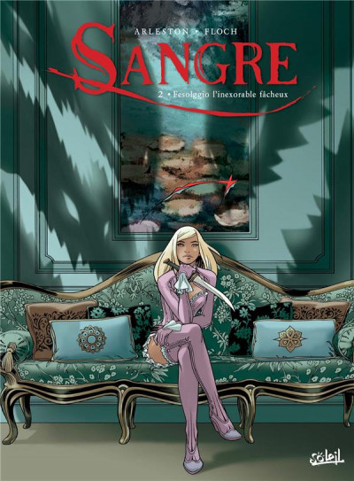 Couverture Sangre tome 2