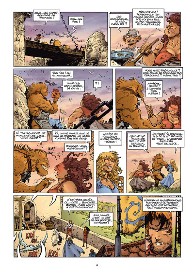Page 2 Lanfeust Odyssey tome 9