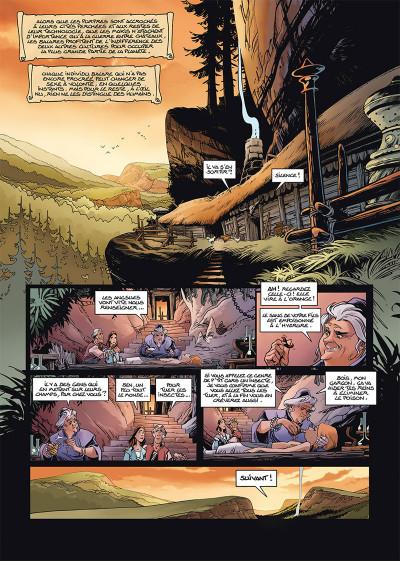 Page 1 Les naufragés d'Ythaq tome 15