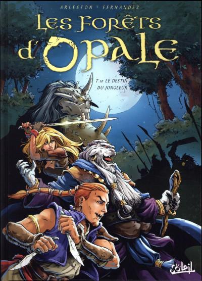 Couverture Les forêts d'Opale tome 10