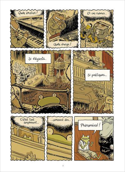 Page 1 Le petit rêve de Georges Frog