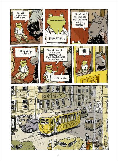 Page 2 Le petit rêve de Georges Frog