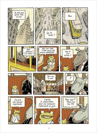 Page 3 Le petit rêve de Georges Frog