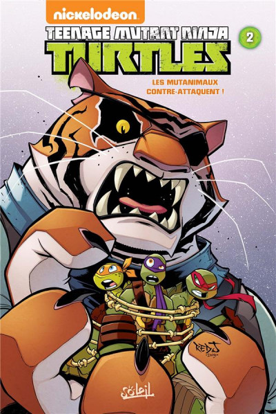 Couverture Teenage Mutant Ninja Turtles tome 2