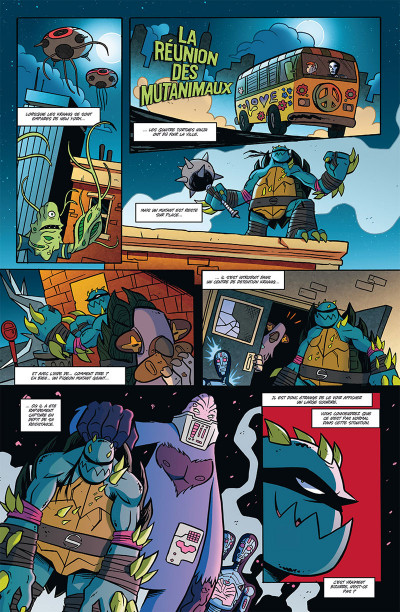 Page 1 Teenage Mutant Ninja Turtles tome 2
