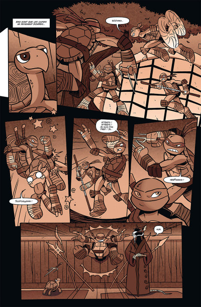 Page 2 Teenage Mutant Ninja Turtles tome 2