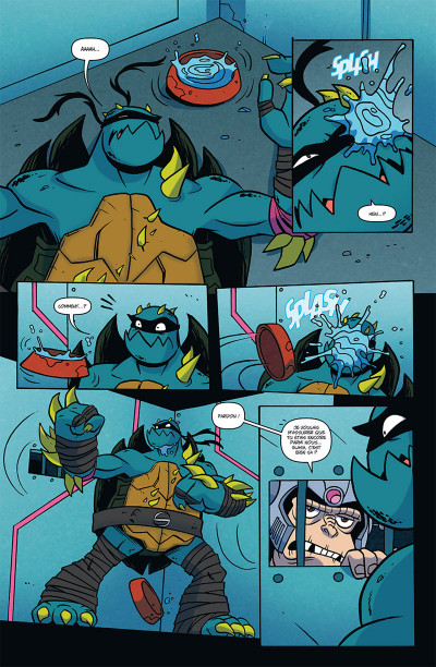 Page 4 Teenage Mutant Ninja Turtles tome 2