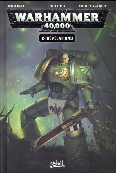 Couverture Warhammer 40 000 tome 2