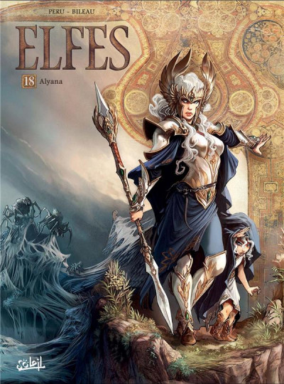 Couverture Elfes tome 18