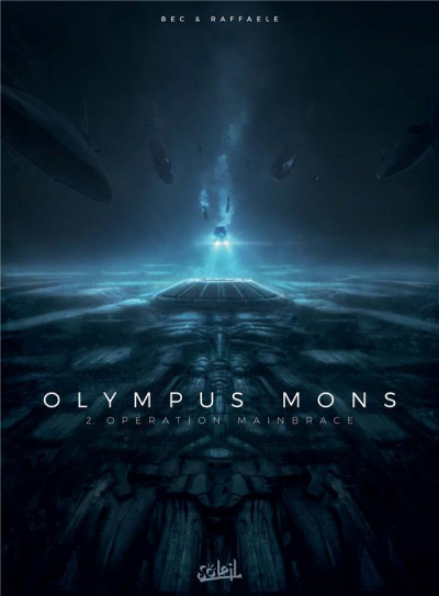Couverture Olympus mons tome 2