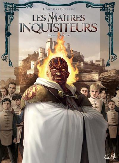 Couverture Les maîtres inquisiteurs tome 7