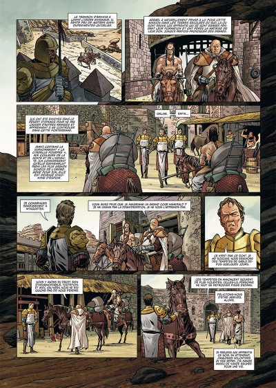 Page 3 Les maîtres inquisiteurs tome 7