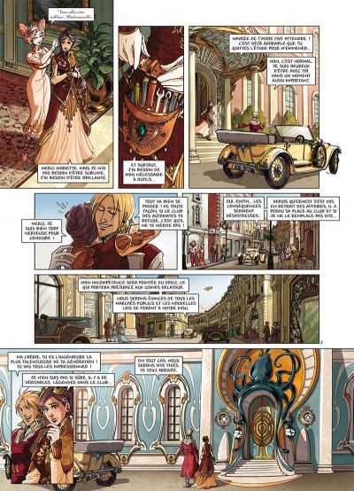 Page 2 Princesse Sara tome 10