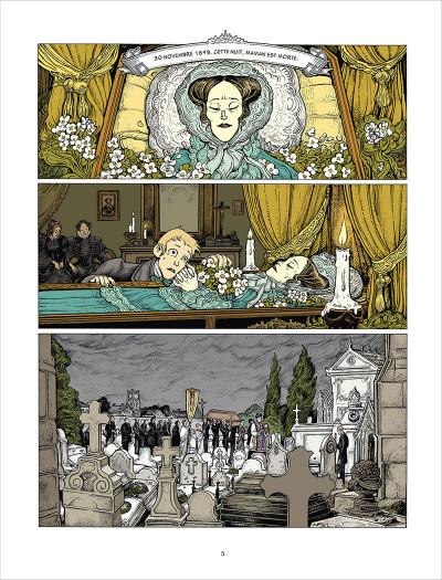 Page 1 L'esprit de Lewis tome 1