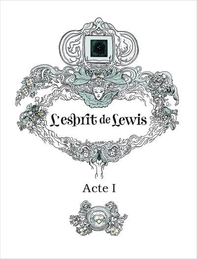 Page 3 L'esprit de Lewis tome 1
