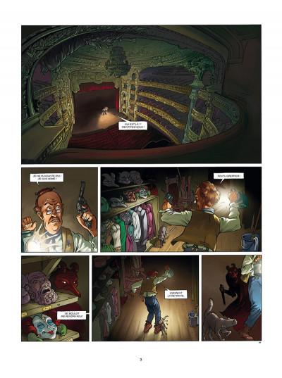 Page 1 Aspic, détectives de l'étrange tome 6