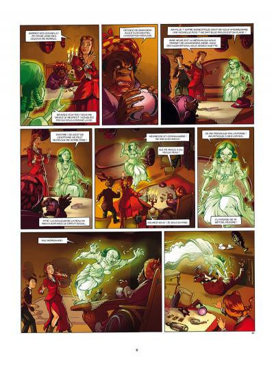 Page 4 Aspic, détectives de l'étrange tome 6