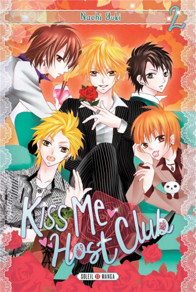Couverture Kiss me host club tome 2