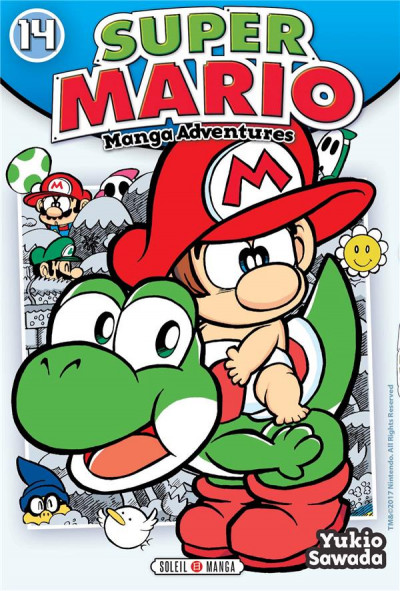 Couverture Super Mario - Manga adventures tome 14