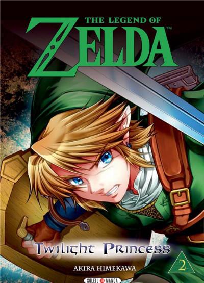Couverture The legend of Zelda - twilight princess tome 2