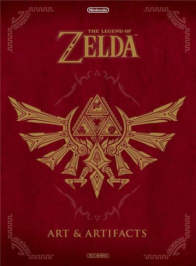 Couverture The legend of Zelda - art & artifacts