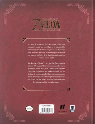 Dos The legend of Zelda - art & artifacts
