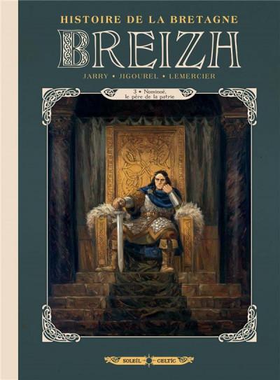 Couverture Breizh - histoire de la Bretagne tome 3