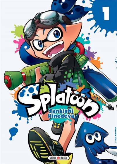 Couverture Splatoon tome 1