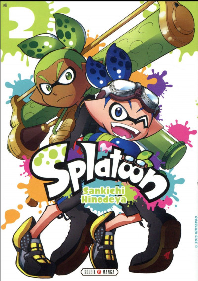 Couverture Splatoon tome 2