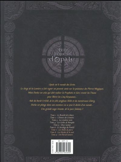Dos Les forêts d'Opale - intégrale tomes 7 à 9