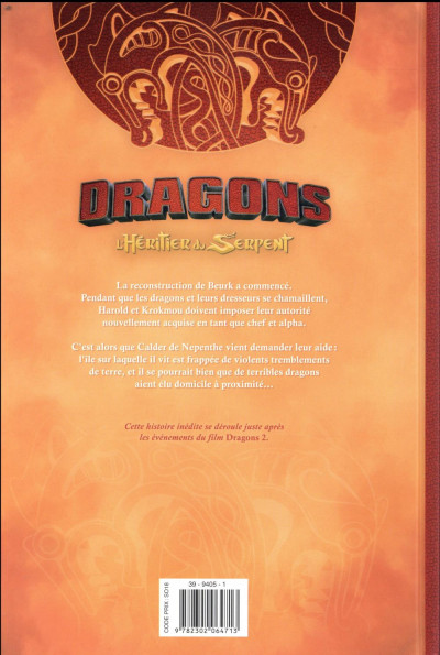 Dos Dragons l'héritier du serpent