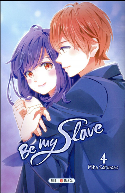 Couverture Be my slave tome 4