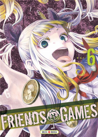 Couverture Friends games tome 6