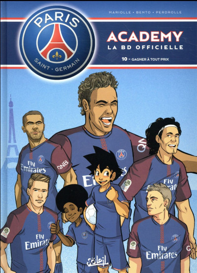 Couverture PSG academy tome 10