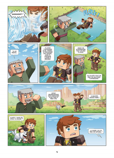 Page 2 Frigiel et Fluffy tome 1