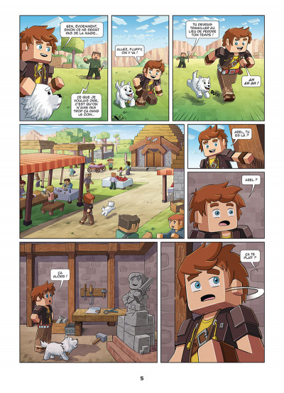 Page 3 Frigiel et Fluffy tome 1