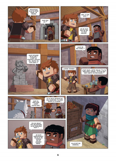 Page 4 Frigiel et Fluffy tome 1