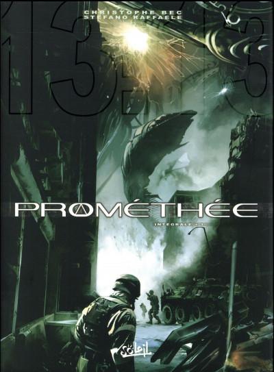 Couverture Prométhée - intégrale tome 3