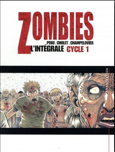 Couverture Zombies - intégrale tome 1