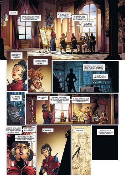 Page 2 La geste des chevaliers dragons tome 25