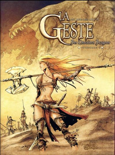 Couverture La geste des chevaliers dragons - intégrale tome 5