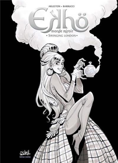 Couverture Ekhö - monde miroir tome 7 - édition n&b