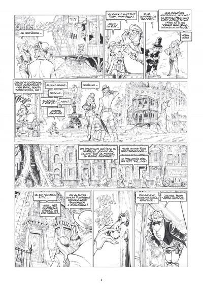 Page 3 Ekhö - monde miroir tome 7 - édition n&b