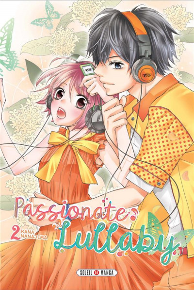 Couverture Passionate lullaby tome 2