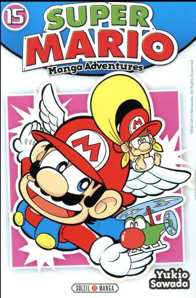 Couverture Super Mario - manga adventures tome 15