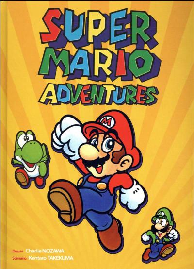 Couverture Super mario adventures - La BD