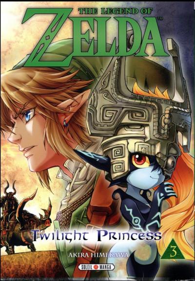 Couverture The legend of Zelda - twilight princess tome 3